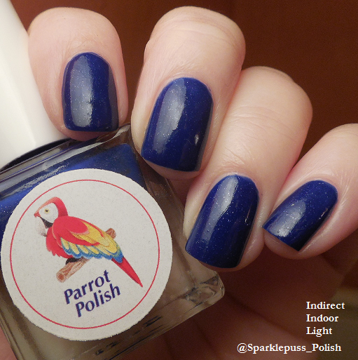 Cold Blue Berry by Parrot Polish
