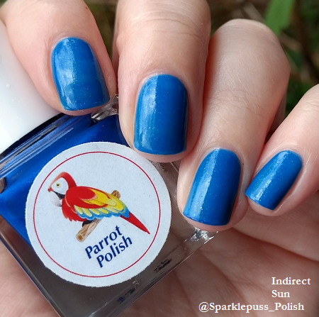 Hot Blue Berry by Parrot Polish 3
