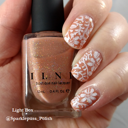 Peachy Queen by ILNP with stamping 1