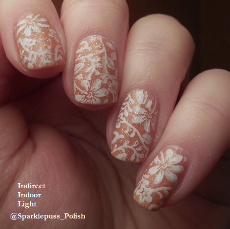 Peachy Queen by ILNP with stamping