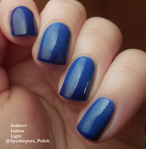 transition Blue Berry by Parrot Polish