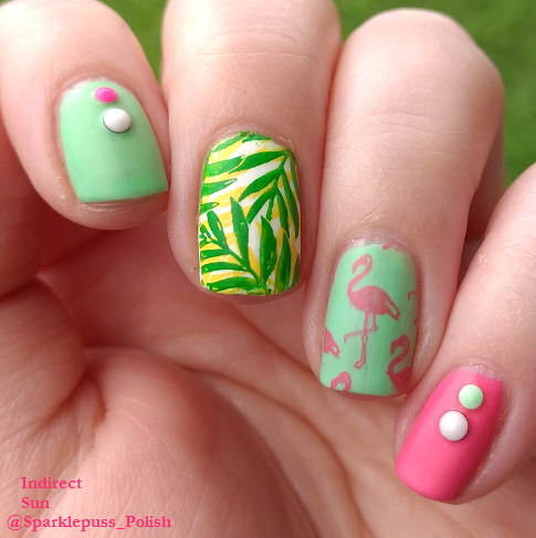 Algae-atic Sea by Octopus Party Nail Lacquer and stamping polishes by Pueen 1