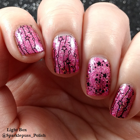 Pink Tourmaline by KBShimmer with stars from Winstonia 1