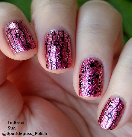 Pink Tourmaline by KBShimmer with stars from Winstonia