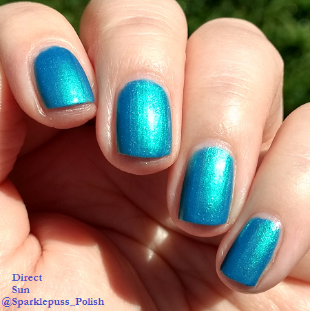 Blue Macaw by Parrot Polish 1