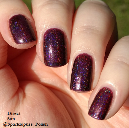 Grimes by Octopus Party Nail Lacquer 1