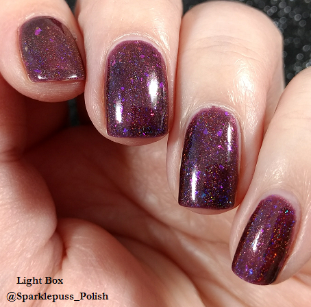Grimes by Octopus Party Nail Lacquer 2