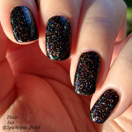 Dorothy Dandridge by Different Dimension and Twinkling Light by Night Owl Lacquer 4