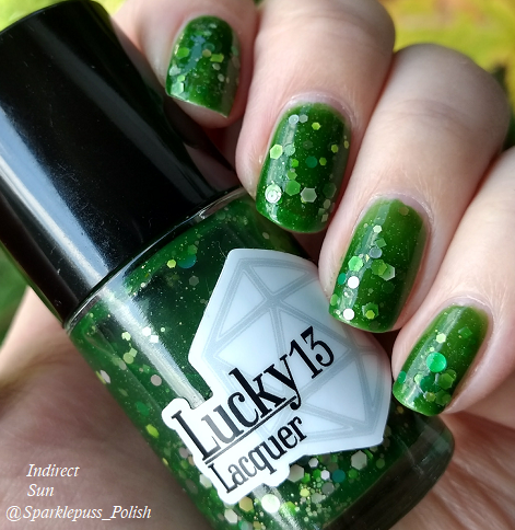 Green Goddess by Lucky 13 Lacquer 1