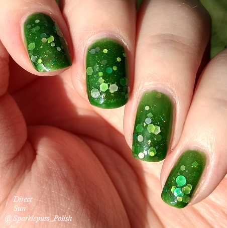 Green Goddess by Lucky 13 Lacquer 3