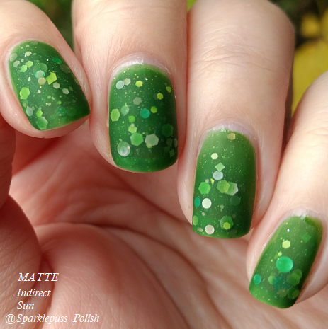 Green Goddess by Lucky 13 Lacquer 6
