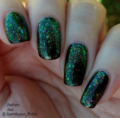 Run This Bayou by Octopus Party Nail Lacquer 5