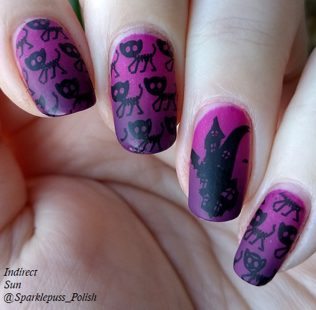 Bloom Tarantula Purple by Parrot Polish and Landon by Zoya 2