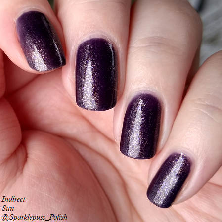 Deadly Nightshade by Lucky 13 Lacquer 3