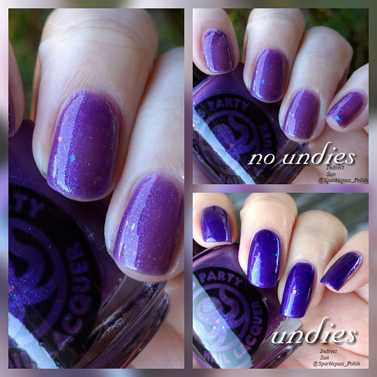 Psychopomp by Octopus Party Nail Laquer collage bottle