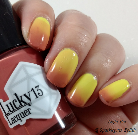 Riveting Rosy by Lucky 13 Lacquer 4