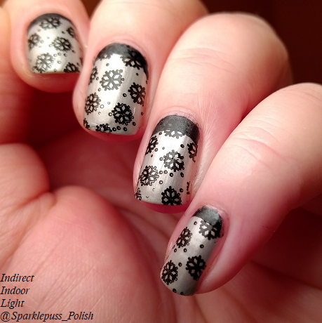 Hephaestus by Gothic Gala Lacquers ruffian snowflake 1