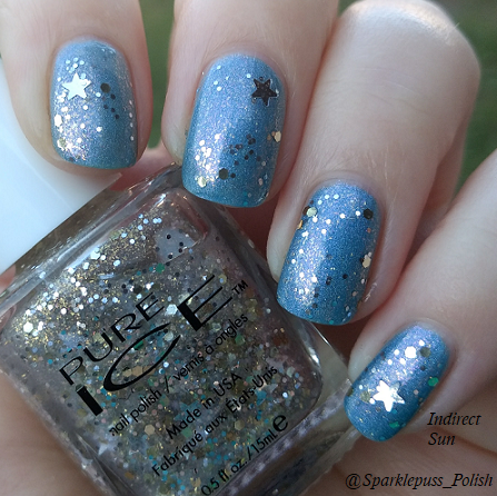 Once Upon a Dream by Lucky 13 Lacquer with Frostette the Snow Woman by Pure Ice 1