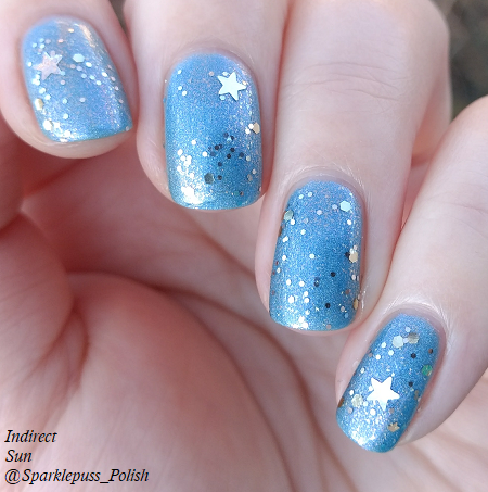 Once Upon a Dream by Lucky 13 Lacquer with Frostette the Snow Woman by Pure Ice