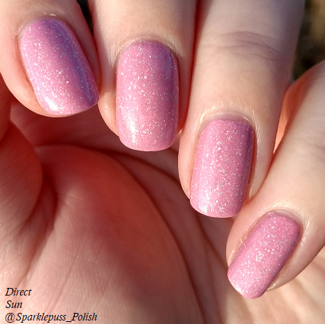 Cotton Candy Clouds by Grace-full Nail Polish 1