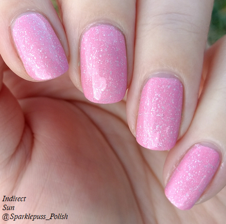 Cotton Candy Clouds by Grace-full Nail Polish 2