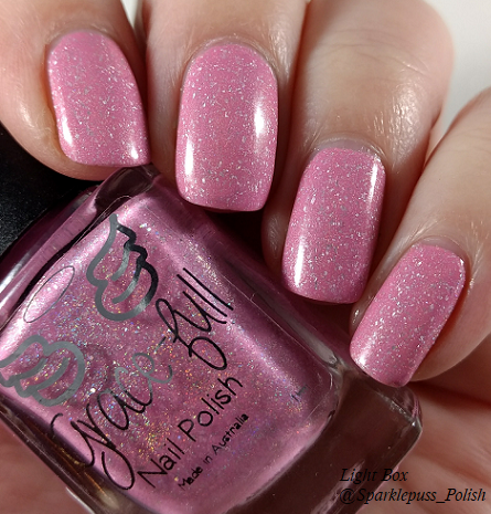 Cotton Candy Clouds by Grace-full Nail Polish 5