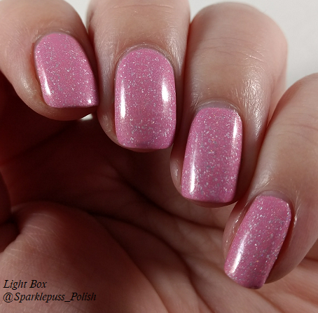 Cotton Candy Clouds by Grace-full Nail Polish 6