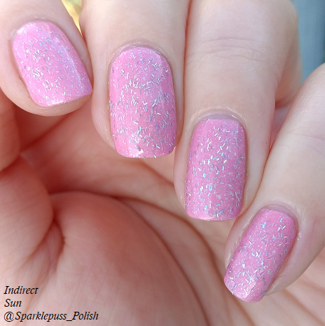 Cotton Candy Clouds by Grace-full Nail Polish and Noelle by 77 Nail Lacquer 1