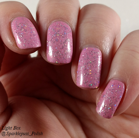 Cotton Candy Clouds by Grace-full Nail Polish and Noelle by 77 Nail Lacquer