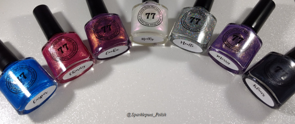 First week advent calender Seventy Seven Nail Lacquer