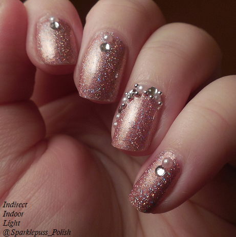 Ballet Slipper by ILNP w nail art