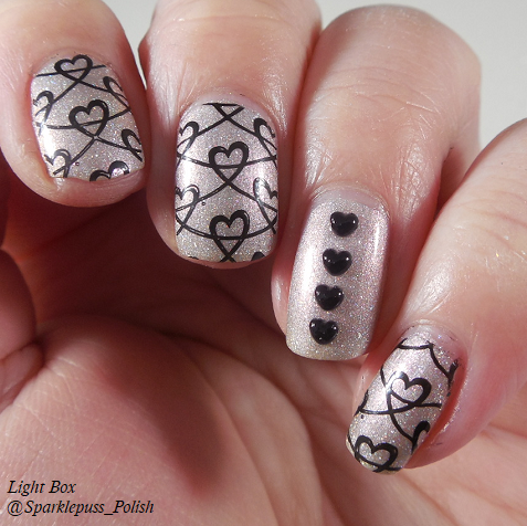 C Forgot the Crystals by Stella Chroma nail art