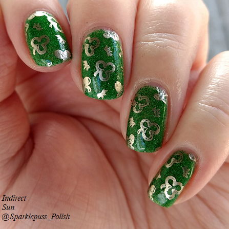 Stone of Time by Lucky 13 Lacquer with nail art