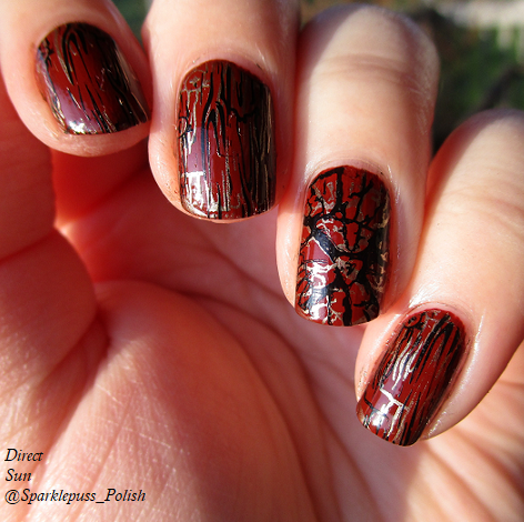 Born Pretty Plate 158 item 40206 with Penny Leather by Orly 1