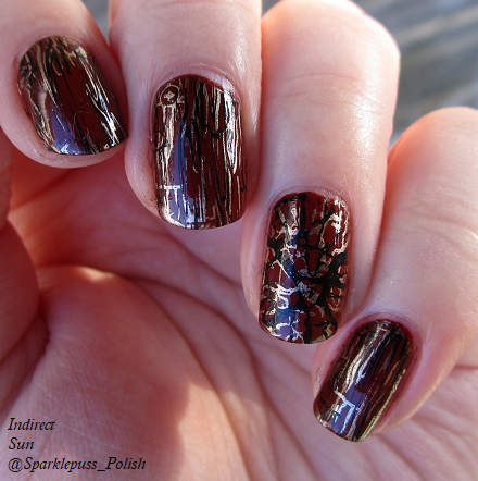 Born Pretty Plate 158 item 40206 with Penny Leather by Orly 2