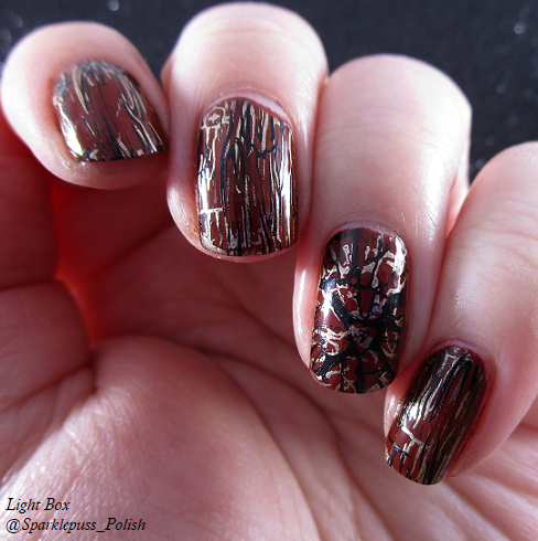 Born Pretty Plate 158 item 40206 with Penny Leather by Orly