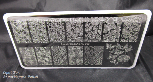 Beauty Bigbang KT040403 stamping plate