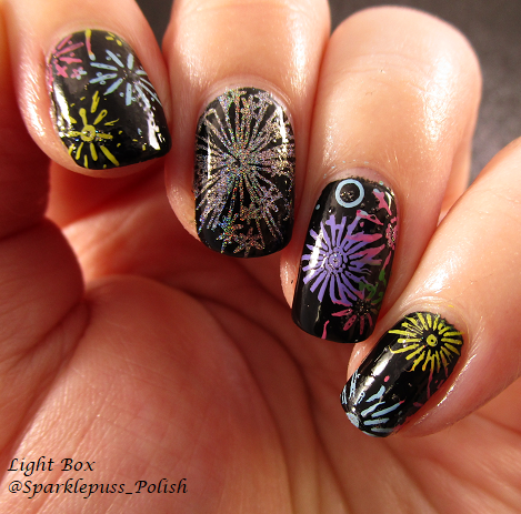 Fireworks Color Club Harp On It Pueen Super Intense Stamping Polish SBS 014 1