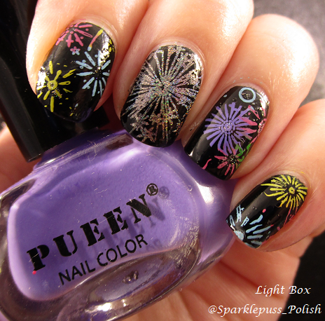 Fireworks Color Club Harp On It Pueen Super Intense Stamping Polish SBS 014