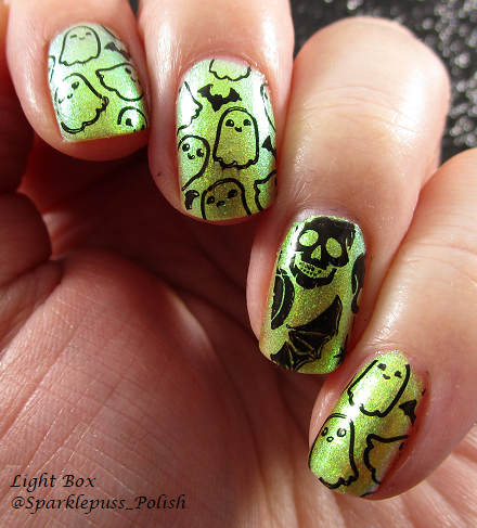 Halloween Nails 2018 POP Polish Limeslickle 2