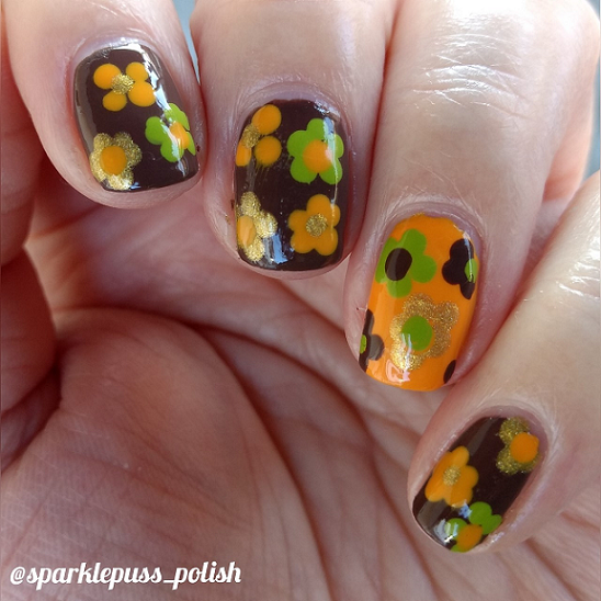 retro sinfulcolors sally hansen birthday collage mani